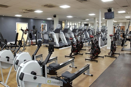 DoubleTree Strathclyde Gym