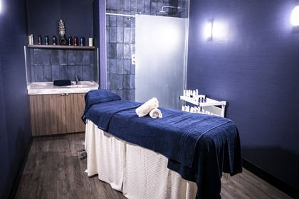 The Cube Spa Treatment Room