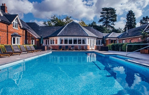 10 amazing UK spas with an outdoor pool or outdoor hot tub