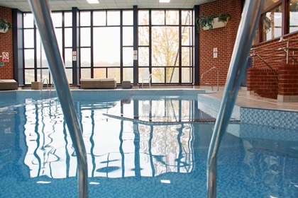 Barnham Broom Hotel Spa & Golf Pool View