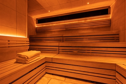 Hoar Cross Hall Sauna