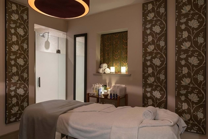 The Bishopstrow Hotel & Spa Treatment Room