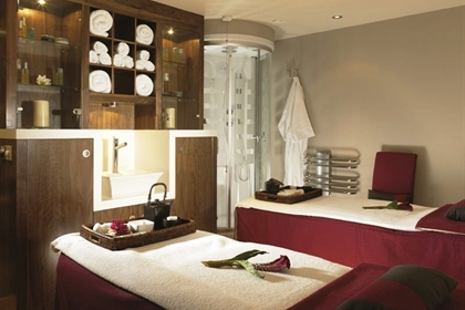 Nutfield Priory spa dual treatment room