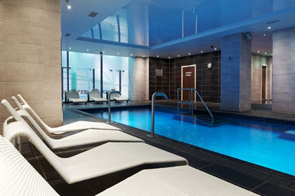 The Club and Spa @ The Cube Pool and Loungers