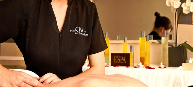 Crowne Plaza Colchester spa treatment back massage