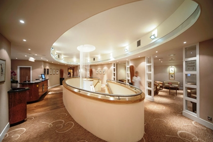 Champneys springs spa reception