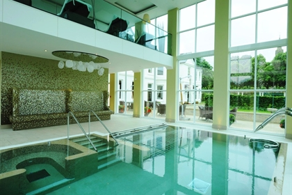 Bedford Lodge Hotel and Spa Inside Pool