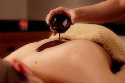 Bannatyne spa chocolate back massage