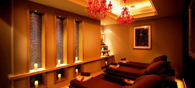 Grosvenor Pulford spa relaxation room