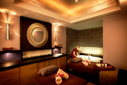 Grosvenor Pulford spa dual treatment room