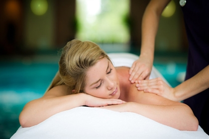 Ragdale spa treatment back massage