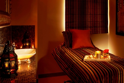 Mount Somerset spa treatment room