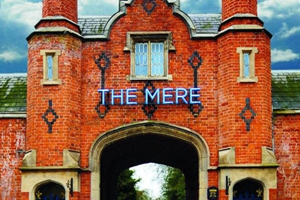 Mere exterior entrance