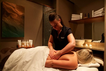 Carnoustie Golf Hotel and Spa Massage Treatment