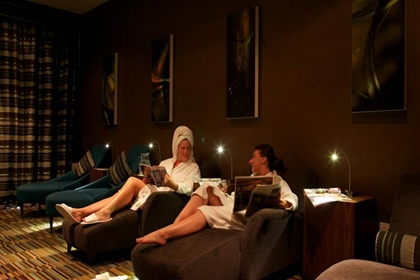 Carnoustie spa relaxation room