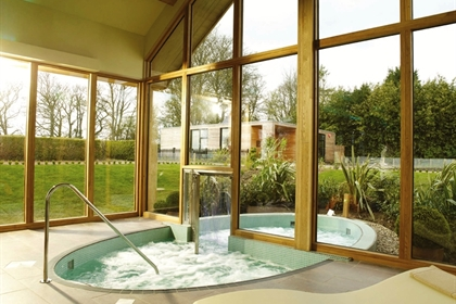 The Elms Hotel and Spa Jacuzzi