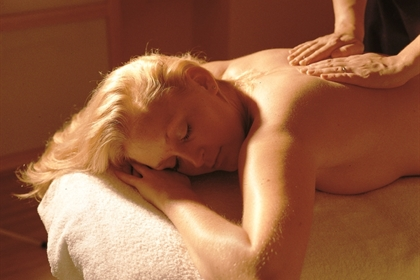 Forest Pines spa treatment back massage