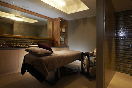 Greenway spa treatment room