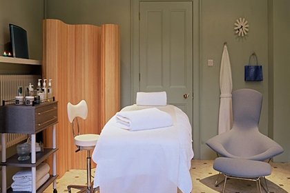 Ickworth spa treatment room