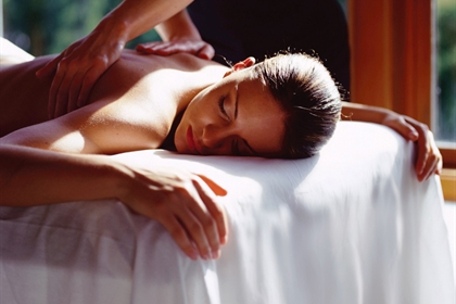 Fawsley Hall spa treatment back massage