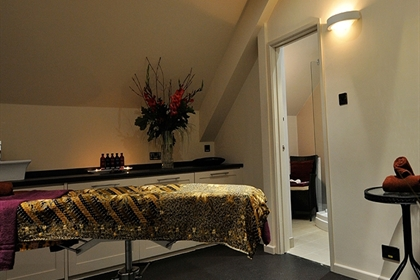 Witney spa treatment room