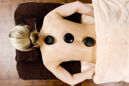 Chevin spa treatment hot stone massage
