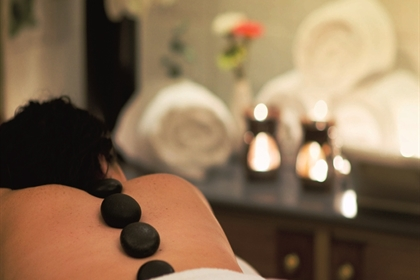 Crutherland House Spa Treatment hot stone massage