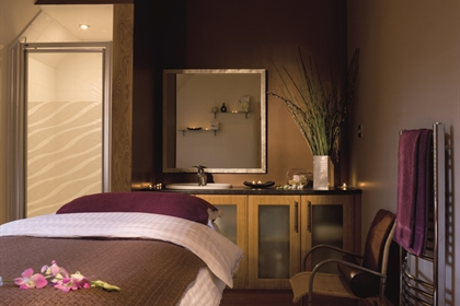 Macdonald Houstoun House spa treatment room