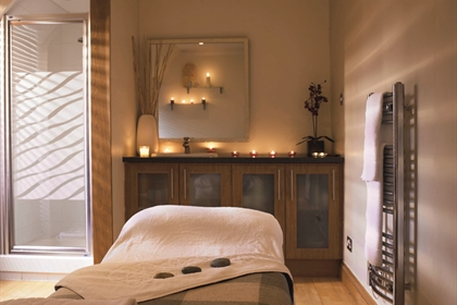 Macdonald Houstoun House spa treatment room 1