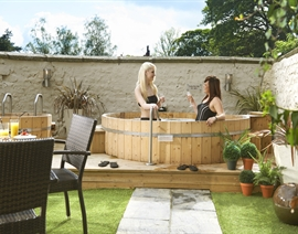 Courtyard Spa Cream Tea Pamper