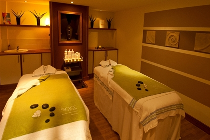 Sheffield St Pauls spa dual treatment room