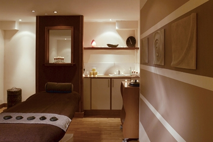 Sheffield St Pauls spa treatment room