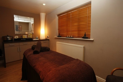 Sketchley spa treatment room