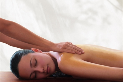 Meon Valley spa treatment back massage