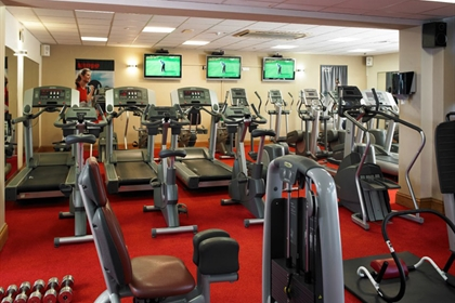 Portsmouth Marriott gym