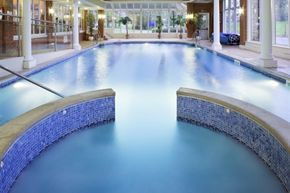 Mercure Blackburn Dunkenhalgh Hotel and Spa Swimming Pool