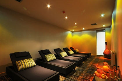 St Mellons spa relaxation room