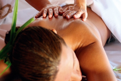 Hythe Imperial spa treatment back massage