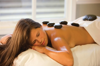 Regency Park spa treatment hot stone massage
