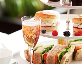 Indulgent Afternoon Tea Spa Day for Two