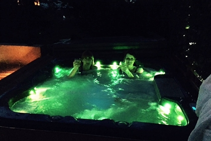 North Gulham Spa Jacuzzi