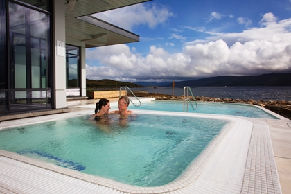 Portavadie Outdoor Spa pool