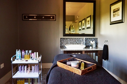 Bovey Castle treatment rooms