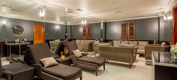 Raddison Heathrow Spa relaxtion lounge