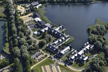 Cotswold Water Park Ariel View