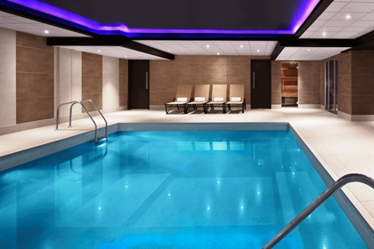 Radisson Blu Hotel Edinburgh swimming pool