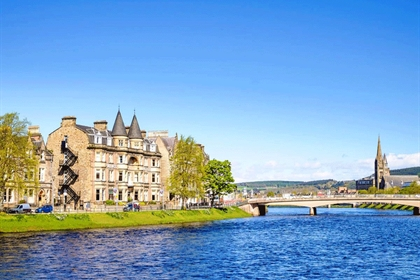 Inverness Palace Hotel and River View