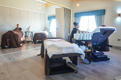 The Corran Resort Treatment Room