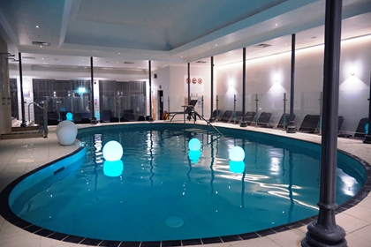 Chakra Spa at Crowne Plaza Felbridge Gatwick Swimming Pool
