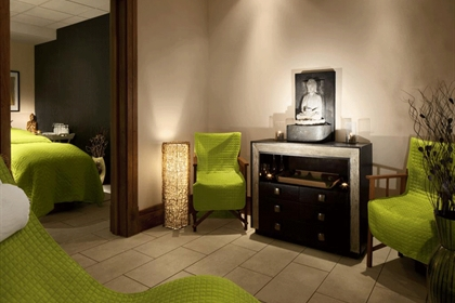 Nu Spa at the Radisson Blu Hotel Spa Reception